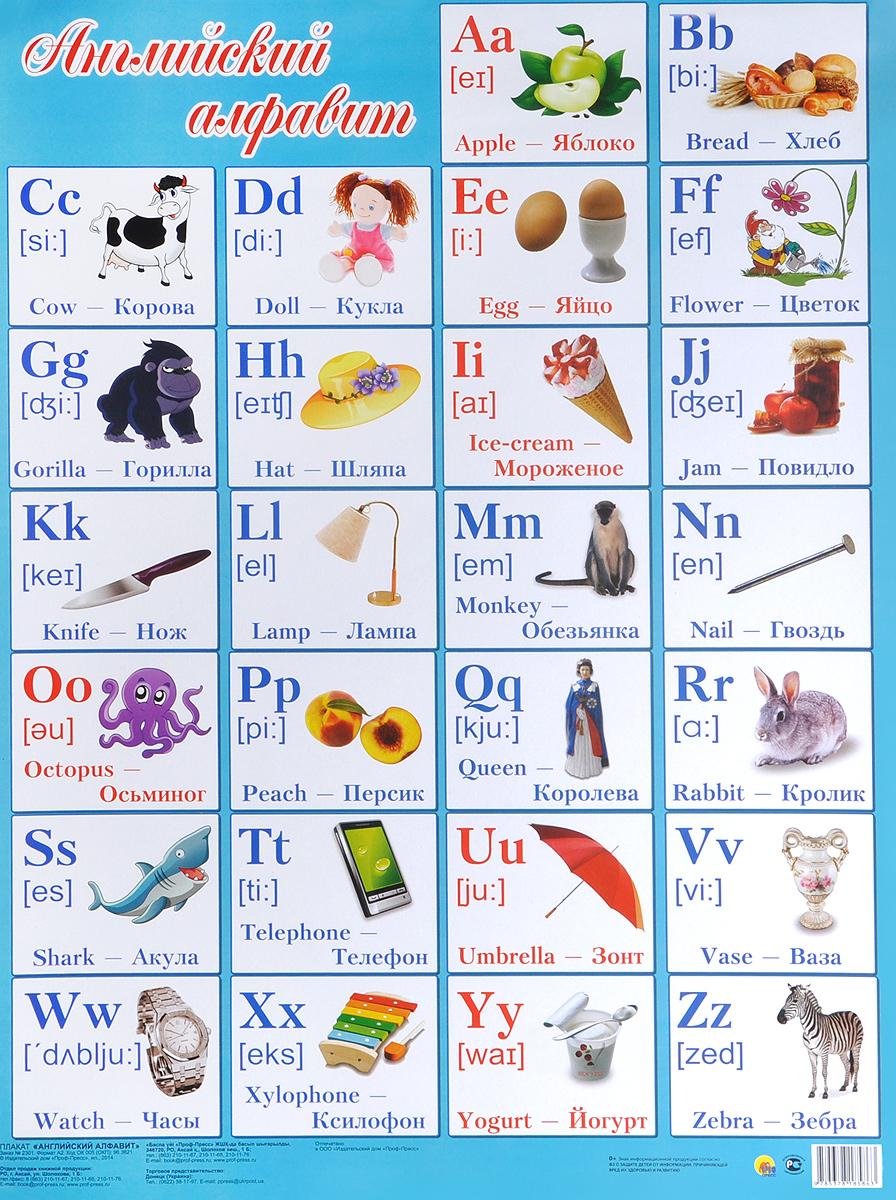 Английский алфавит в картинках для детей 2 класса своими руками