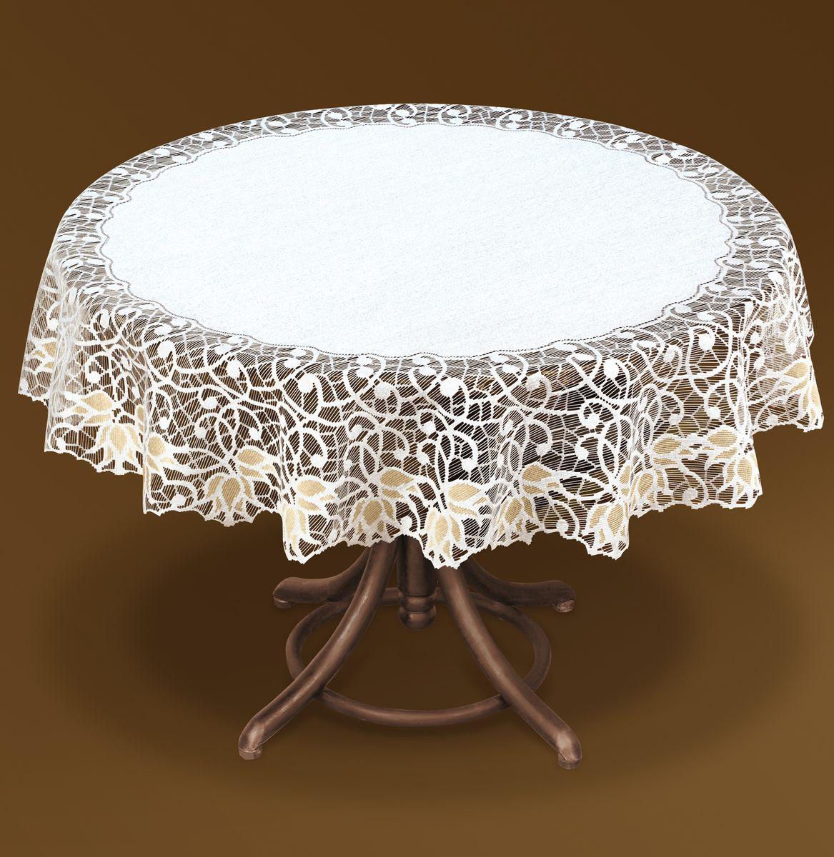 Картинка круглого стола со скатертью
