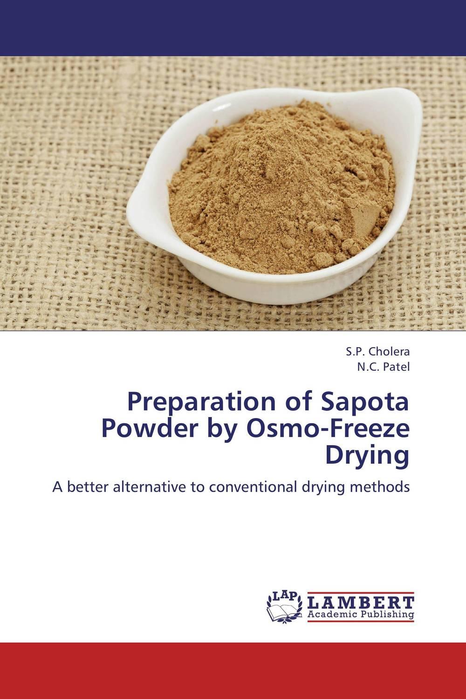 preparation of