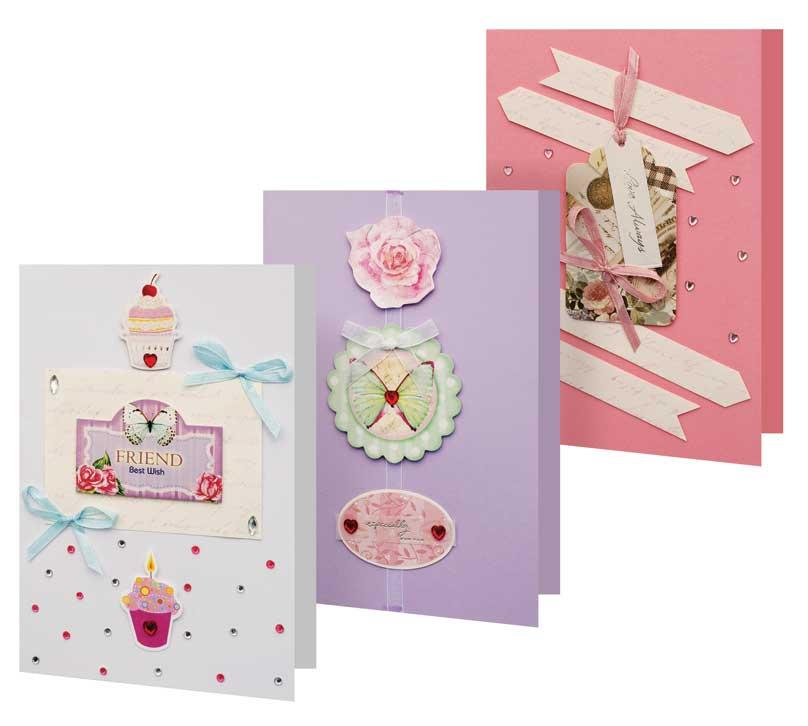 Сделать красивую, наборы для создания открытки