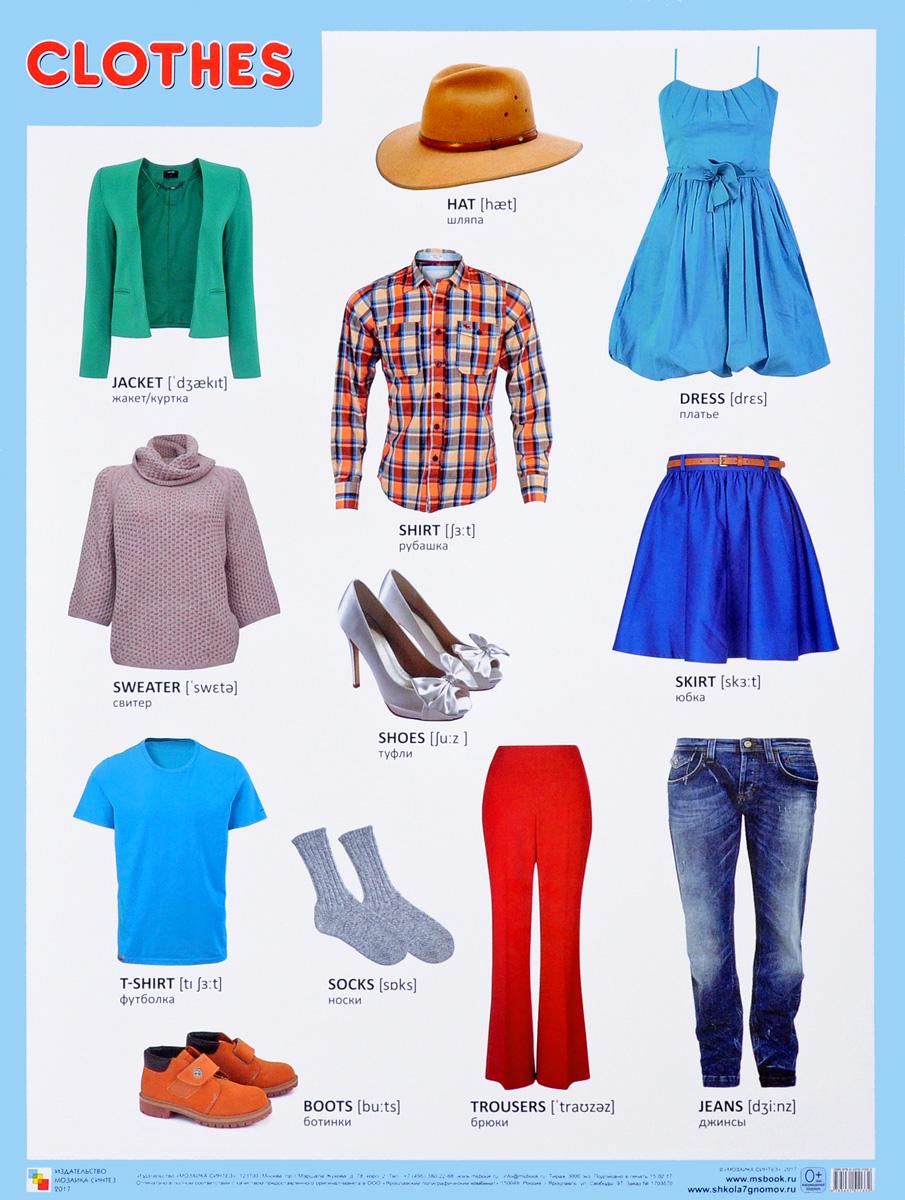 Одежда в виде картинок