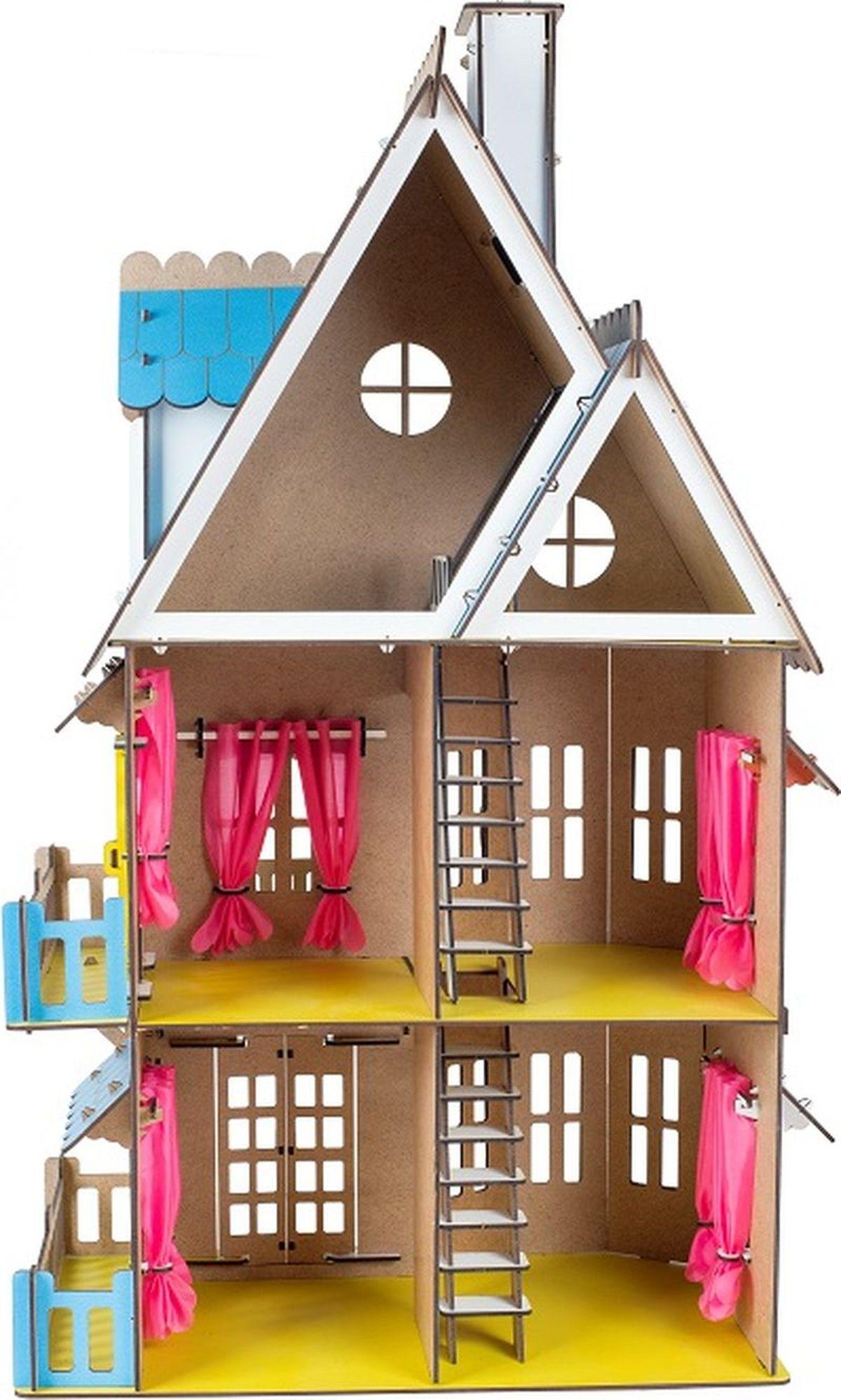 воскресил картинки кукольных деревянных домиков самое