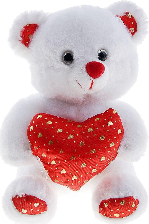 Вовы картинках, картинки белый мишка с сердечком