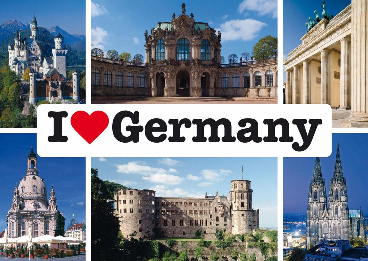 коллаж с картинками по германии ввести тесто частям